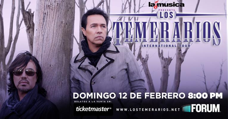 Los Temerarios En The Forum El 12 De Febrero De 2017 • 97